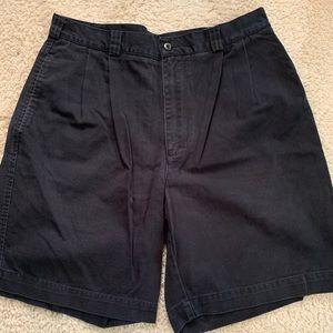 Perry Ellis Black Shorts Size 34